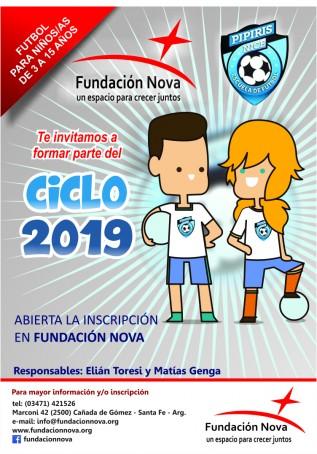 """ESCUELA DE FÚTBOL """"PIPIRIS NICE"""" 2019"""